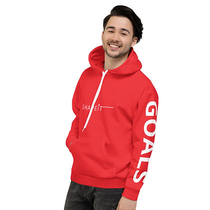 Red Style Your Goals Shapeit Hoodie