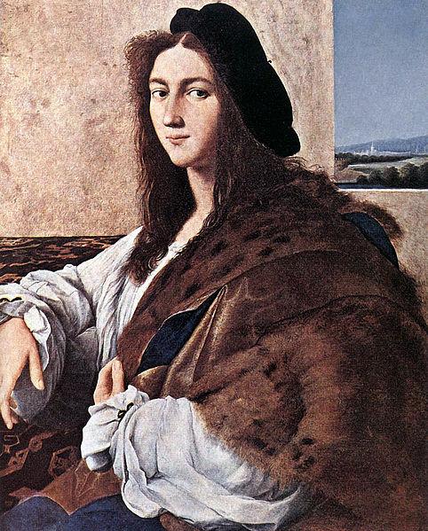 Raphael self-portrait
