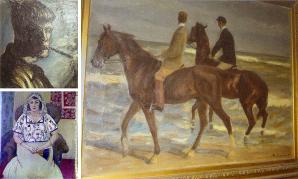 Missing wartime art found in Paris