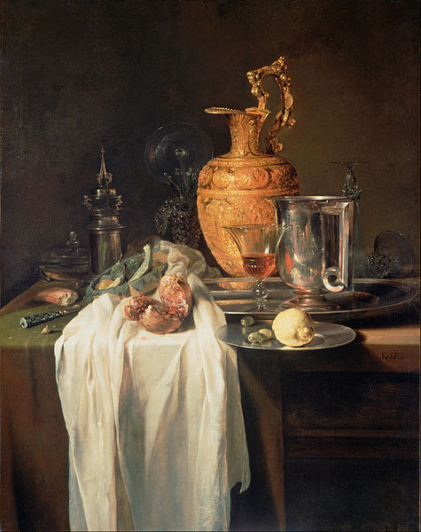 Still Life with Ewer, Pomegranate