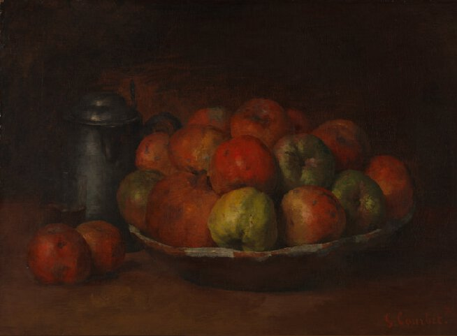 Still Life with Apples, Pomegranate