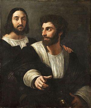 Self-portrait with Friend