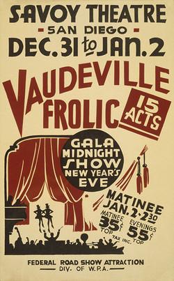 What was Vaudeville?