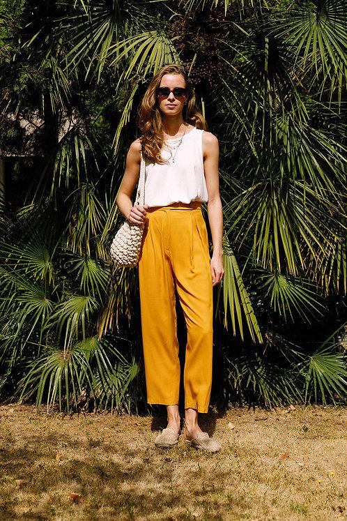 Margot Trousers (Yellow)