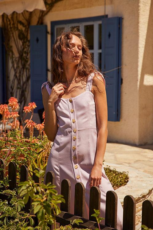 Marseille Dress (Lilac)
