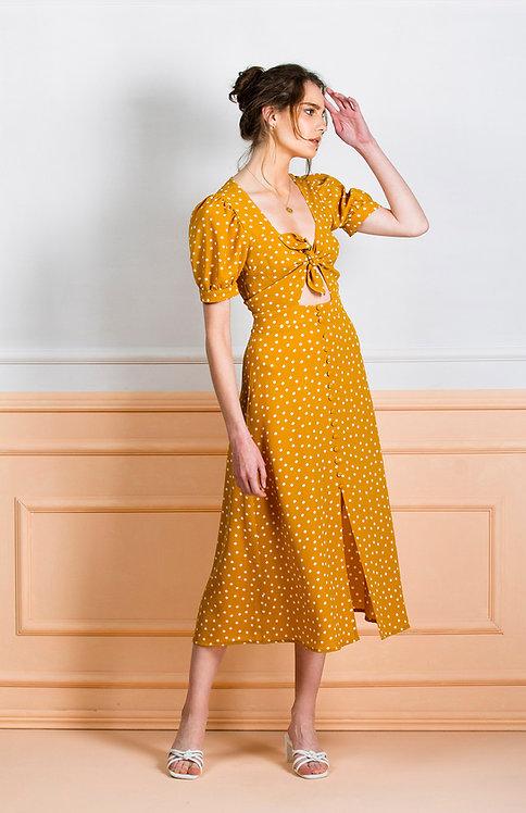 Layla Dress ( Yellow )