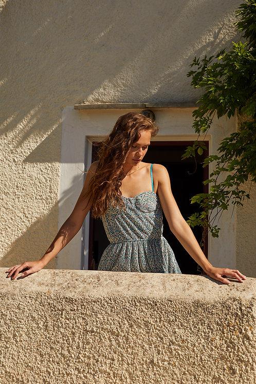 Naples Dress (Blue)