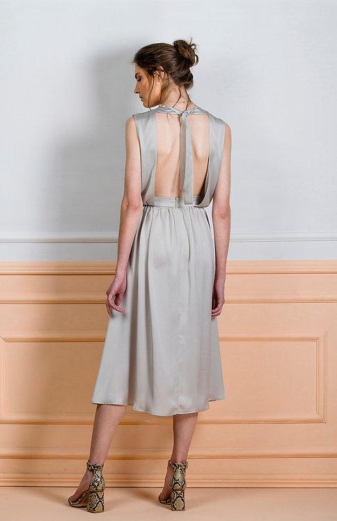 Alessia Dress ( Light Grey )