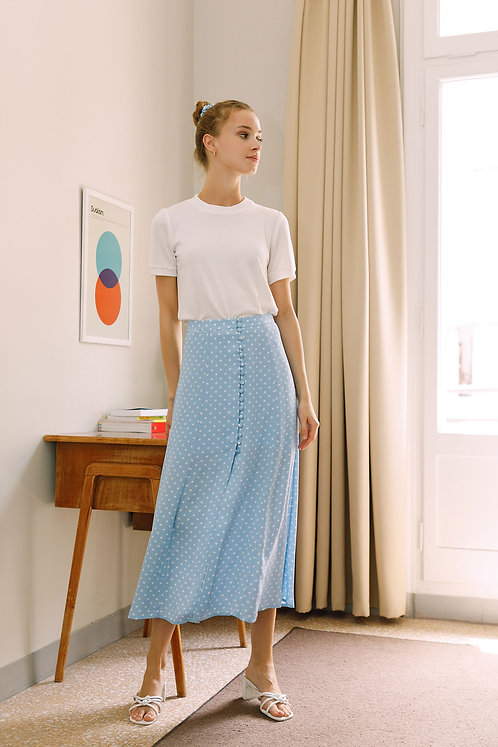 Simone Skirt (Blue)