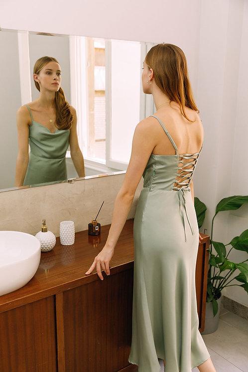 Christine Dress (Green)