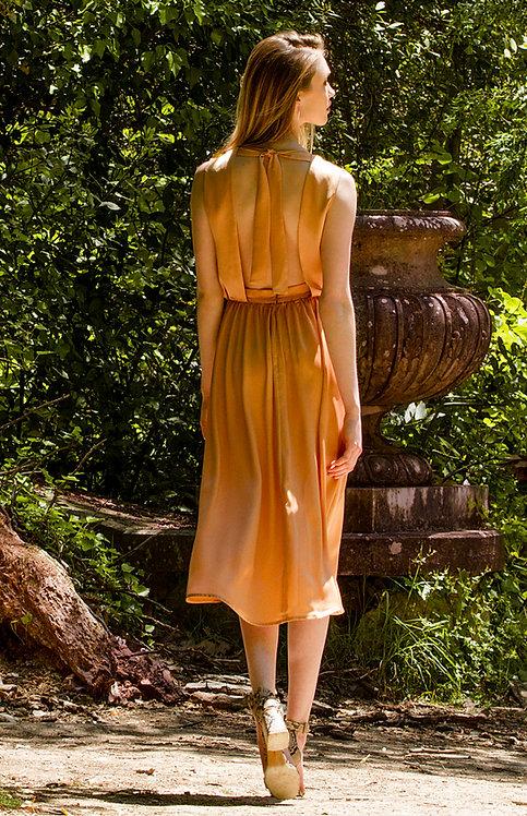 Alessia Dress ( Caramel )