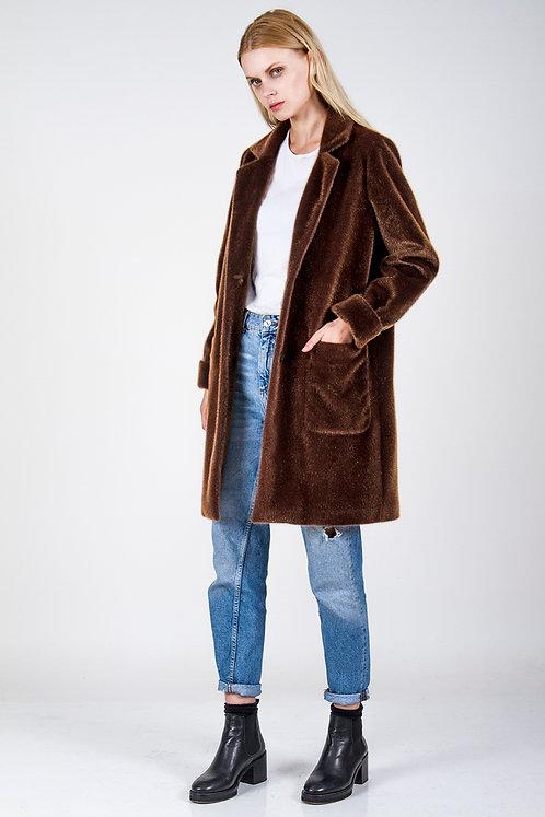 Motel faux fur coat