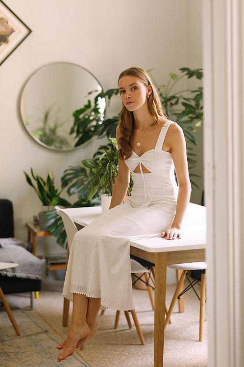 Celine Dress (Off White)