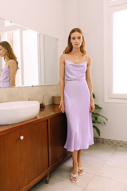 Christine Dress (Lilac)