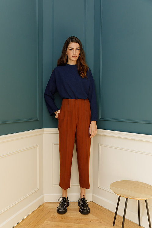 Édith Trousers (Terracotta)