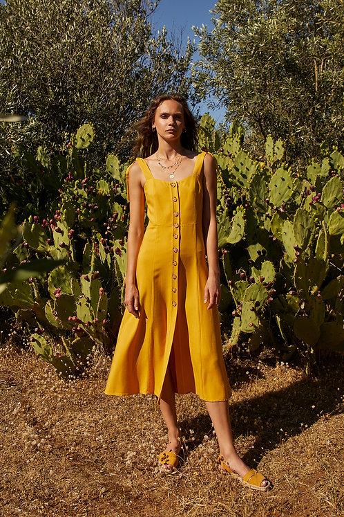 Marseille Dress (Yellow)