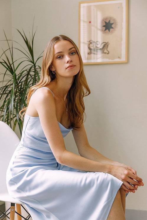 Christine Dress (Blue)