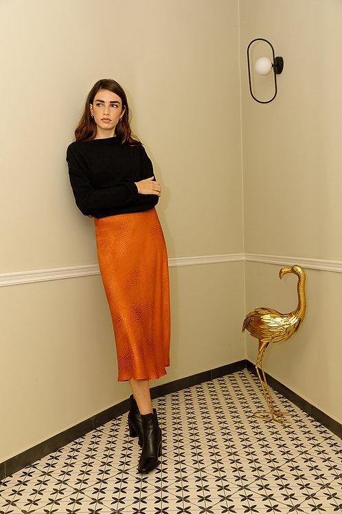 Inés Skirt (Orange)