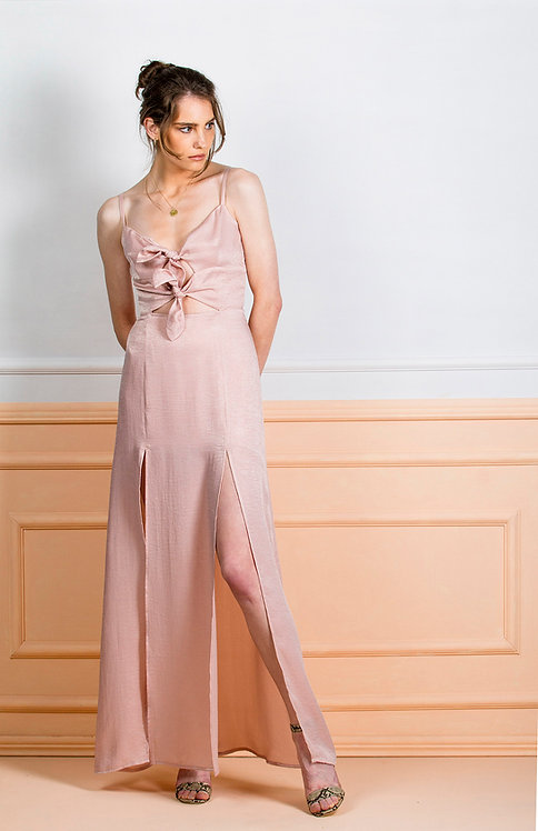 Viola Dress ( Pink )