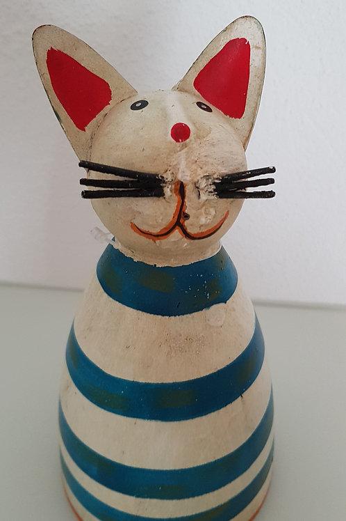Zaunhocker Katze