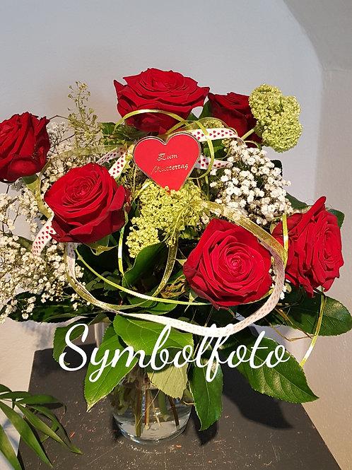 Blumenstrauss rote Rosen