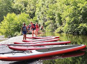 Paddle-Canoë Camping du Pré Sec