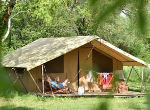 Lodge camping du peti lion