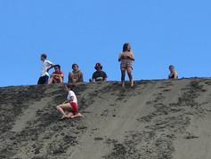 Black sand surfing