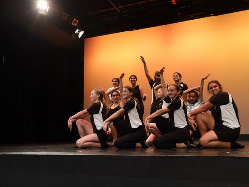 Performing Arts Academy dancers perform