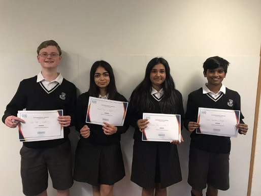 Debaters win Auckland competition!