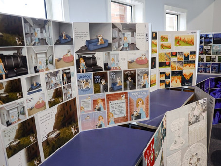 Art display showcases creativity