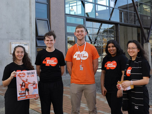 40 Hour Famine - Students step up to help stop the hunger pandemic!
