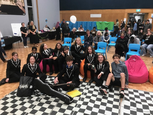 Avcol students play at Whau Youthfest