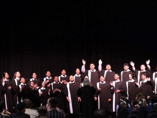 Tui Award for Gospel Choir at Big Sing Cadenza!