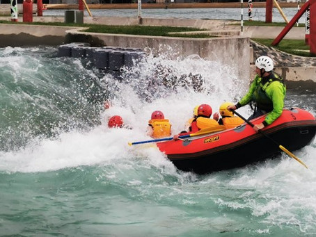 OED students take on whitewater challenge