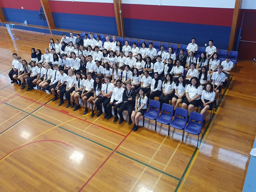 Academic Badge assembly recognises excellence
