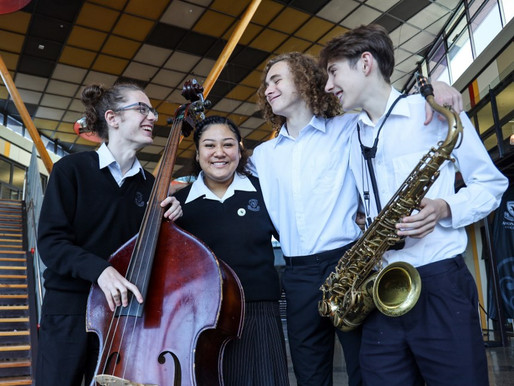 Jazz students win multiple awards at Wellington  competition!