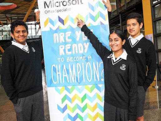 Avcol students top New Zealand's Microsoft Championships - again!
