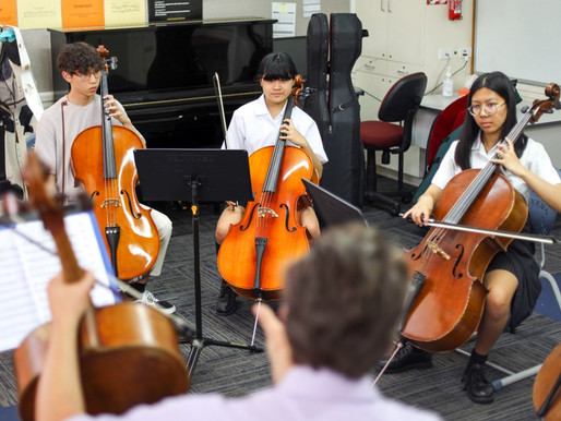 Auckland Philharmonic mentoring for Avcol Symphony Orchestra