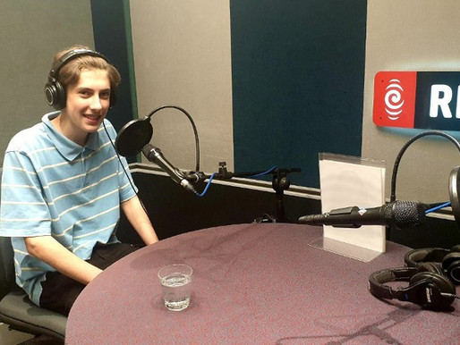 Toby interviewed by RNZ