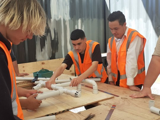 Students get a taste for trades