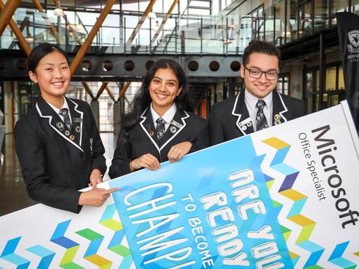 Avcol students sweep NZ Microsoft Champs