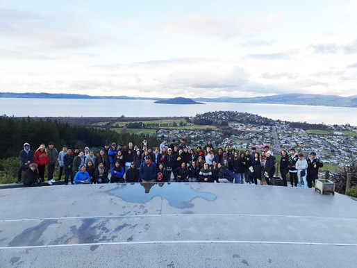 Geographers get first hand look at tourism development in Rotorua