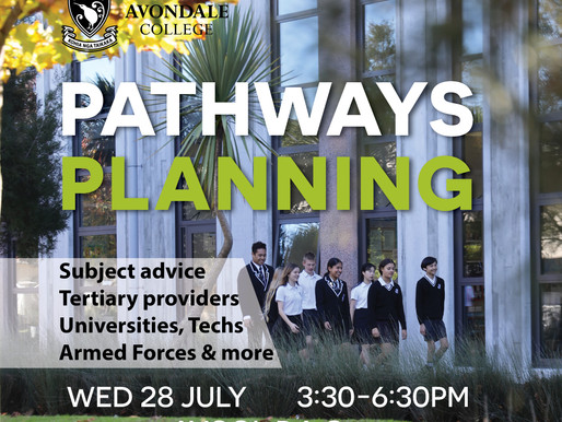 Pathways Planning Event Wed 28 July