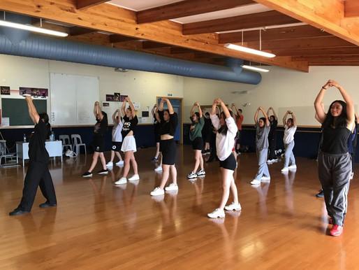 Rehearsals underway for Mega Schools Dance Comp