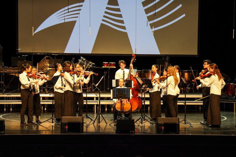 String Ensemble at Aspire International Music Festival