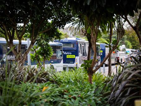 School Bus arrangements for Mon 31 Aug