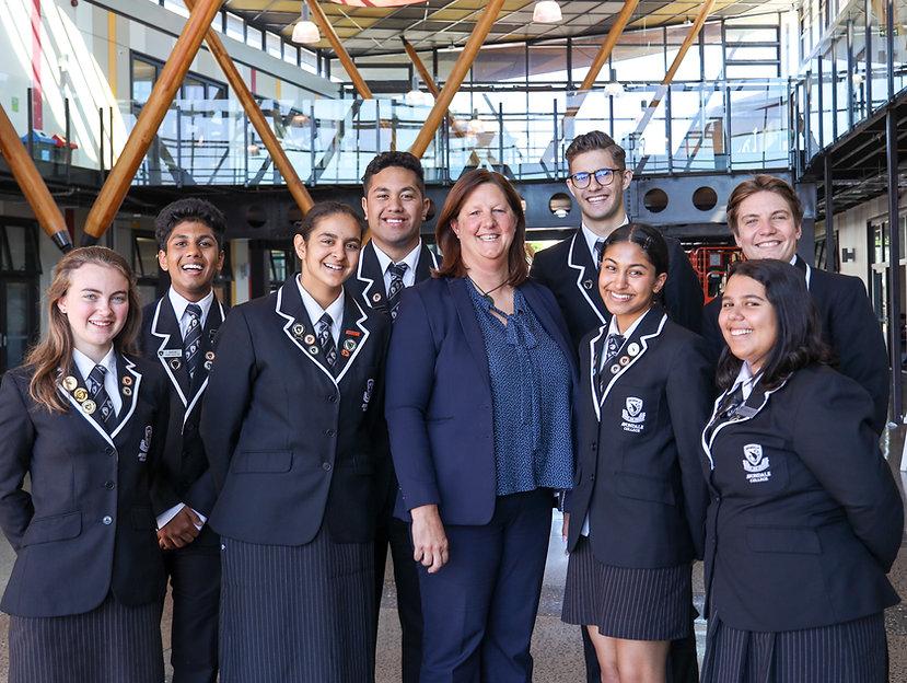 Principal Lyndy Watkinson with Head Prefects.jpg