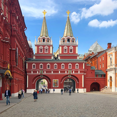 Red Square and Kremlin Walls (185€)