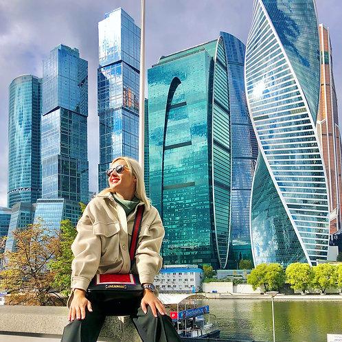 Небоскрёбы Москва-Сити и смотровая на 89 этаже